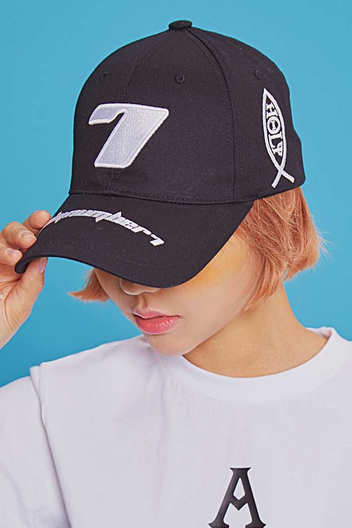Seven Ball Cap-BLACK세븐볼캡_블랙