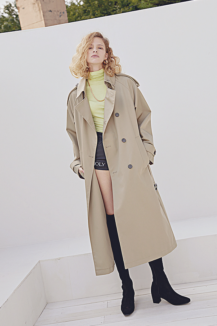 TIMELESS OVER FIT TRENCH COAT[연예인 다수착용]