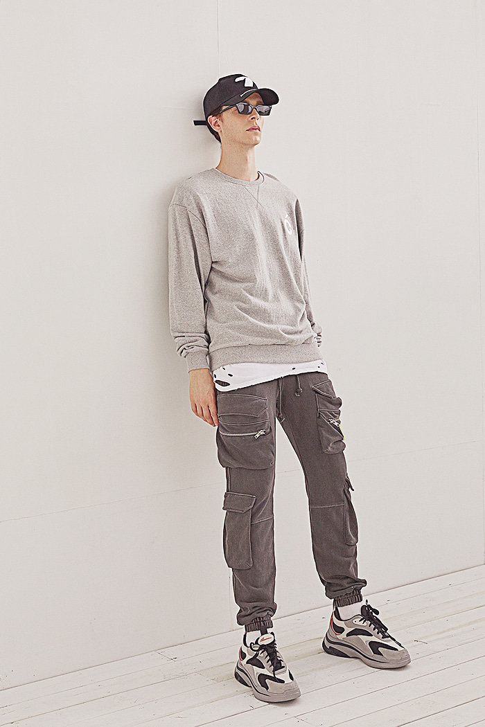 C sweat-shirt_GRAY