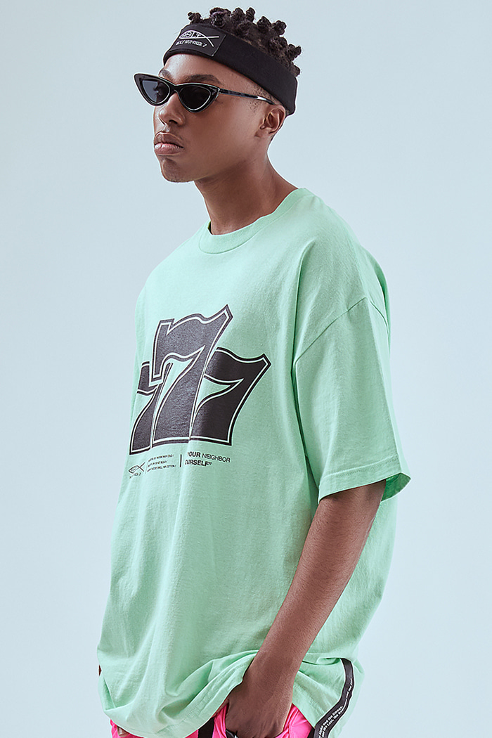 Holy 777 Printing T-SHIRTS_MINT