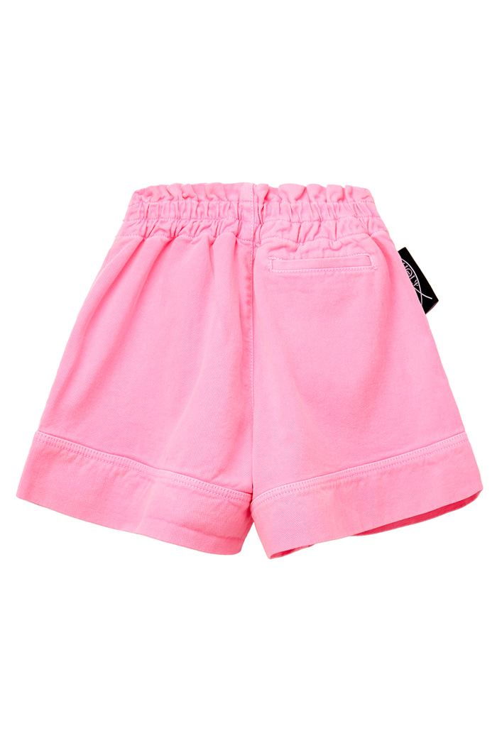 GARMENT-DYED SHORT PANTS_pink