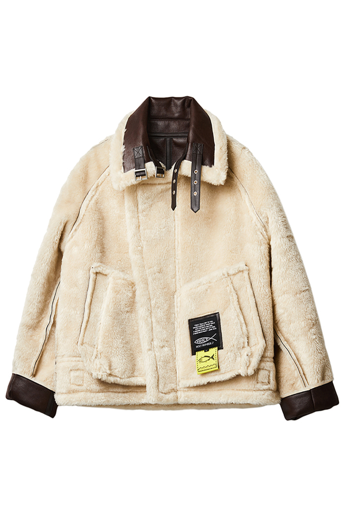 [서울패션위크 할인이벤트 50%]RIVERSIBLE ECO MUSTANG JUMPER_brown
