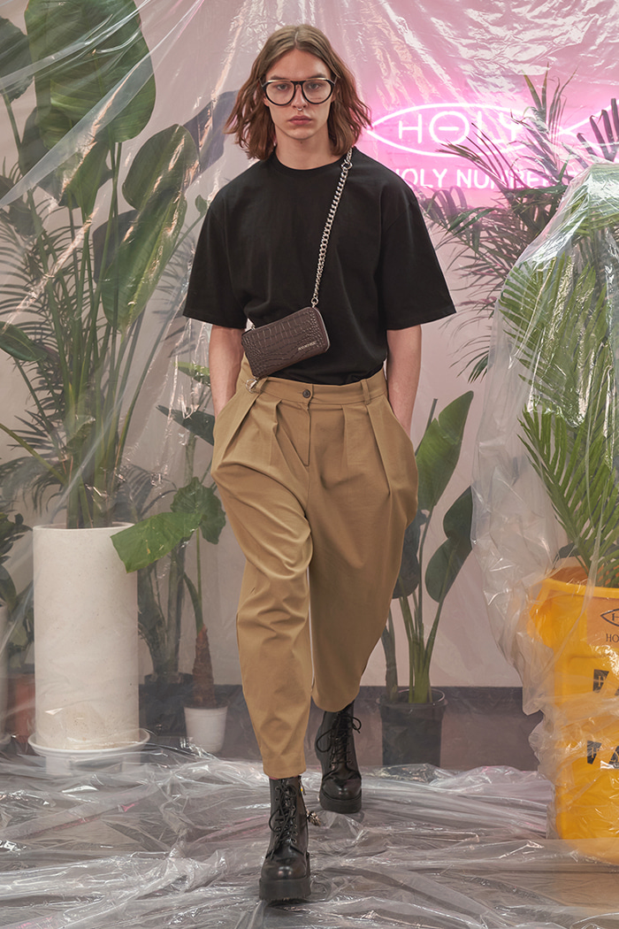 [Upcycling Project]BALLOON ANKLE PANTS_BEIGE벌룬 발목 팬츠_베이지