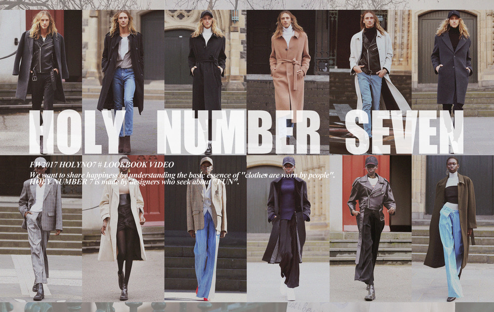 HOLYNUMBER7 17FW LOOKBOOK_VIDEO