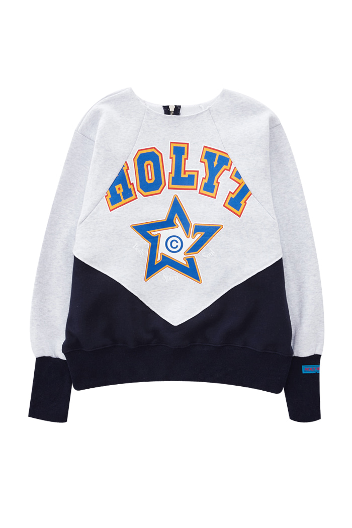 HOLY STAR SWEATSHIRT_NAVY