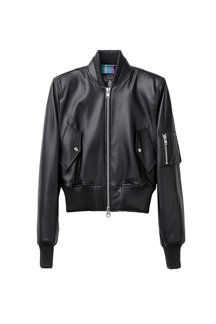 Power Shoulder blouson_black