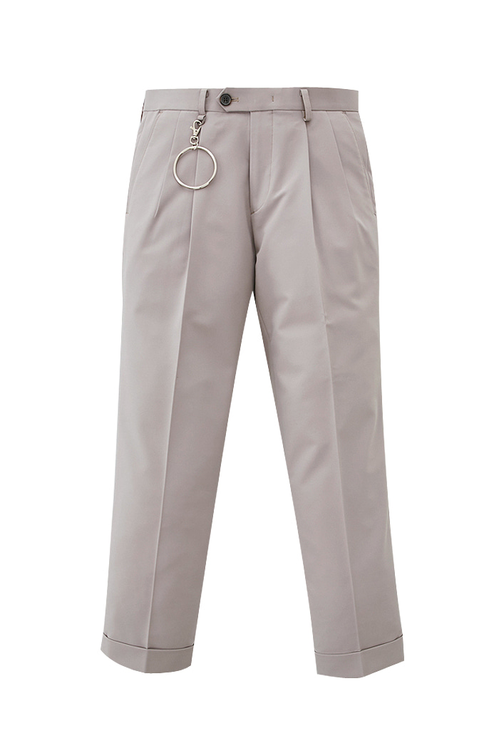 pink beige Holy one tuck pants_M[위너, 박해진 착용]