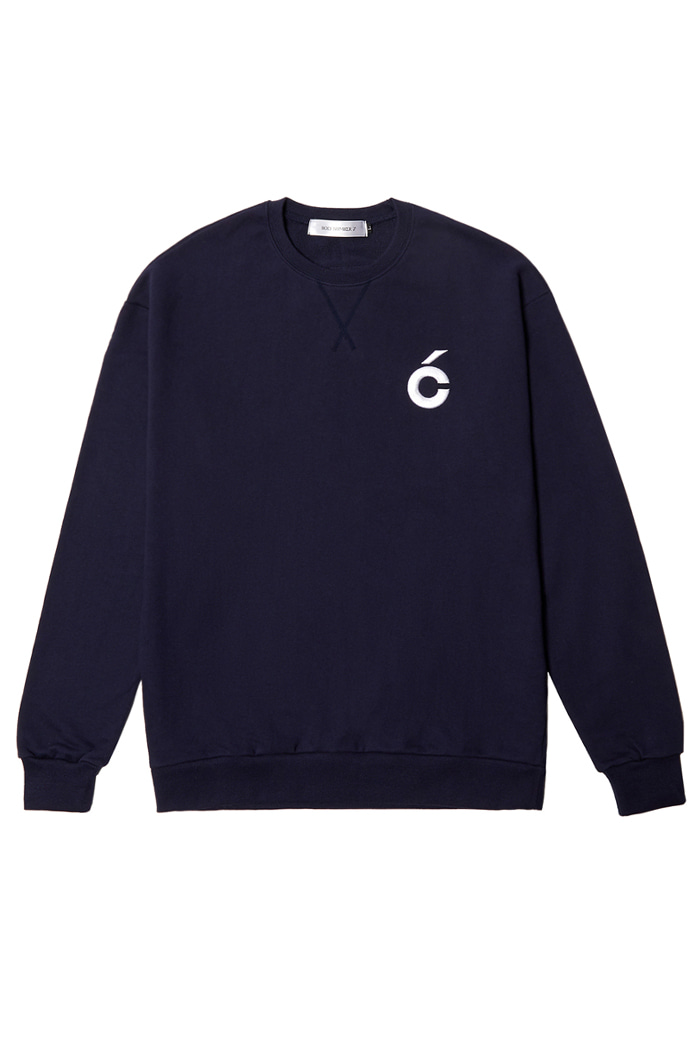 C sweat-shirt_NAVY