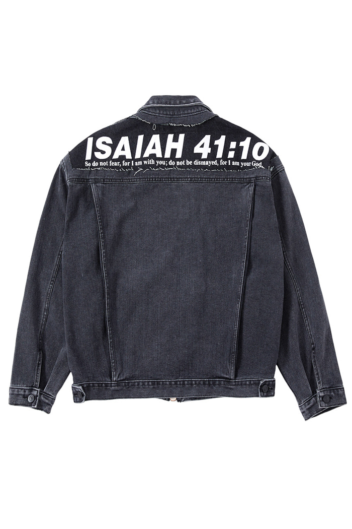 ISAIAH BlACK Denim Jacket