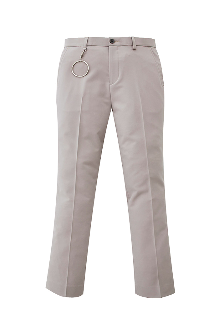 pink beige Holy Long Wide Slacks