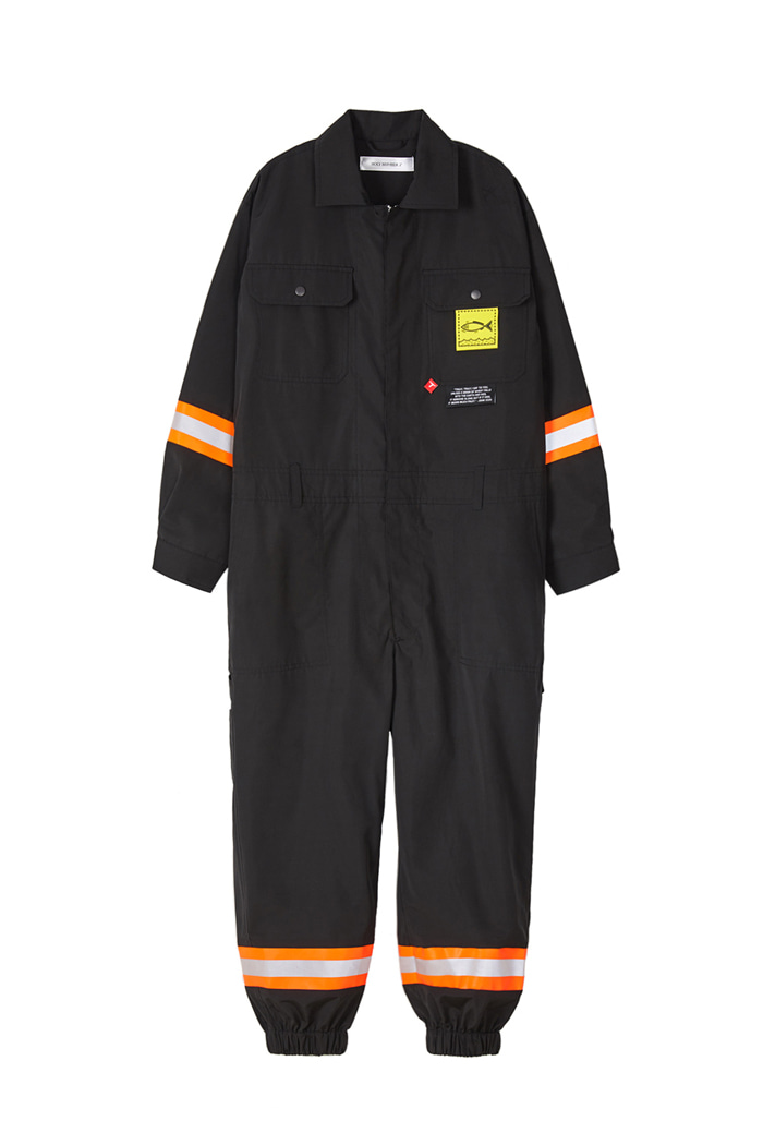 Fireman JUMPSUIT_BLACK