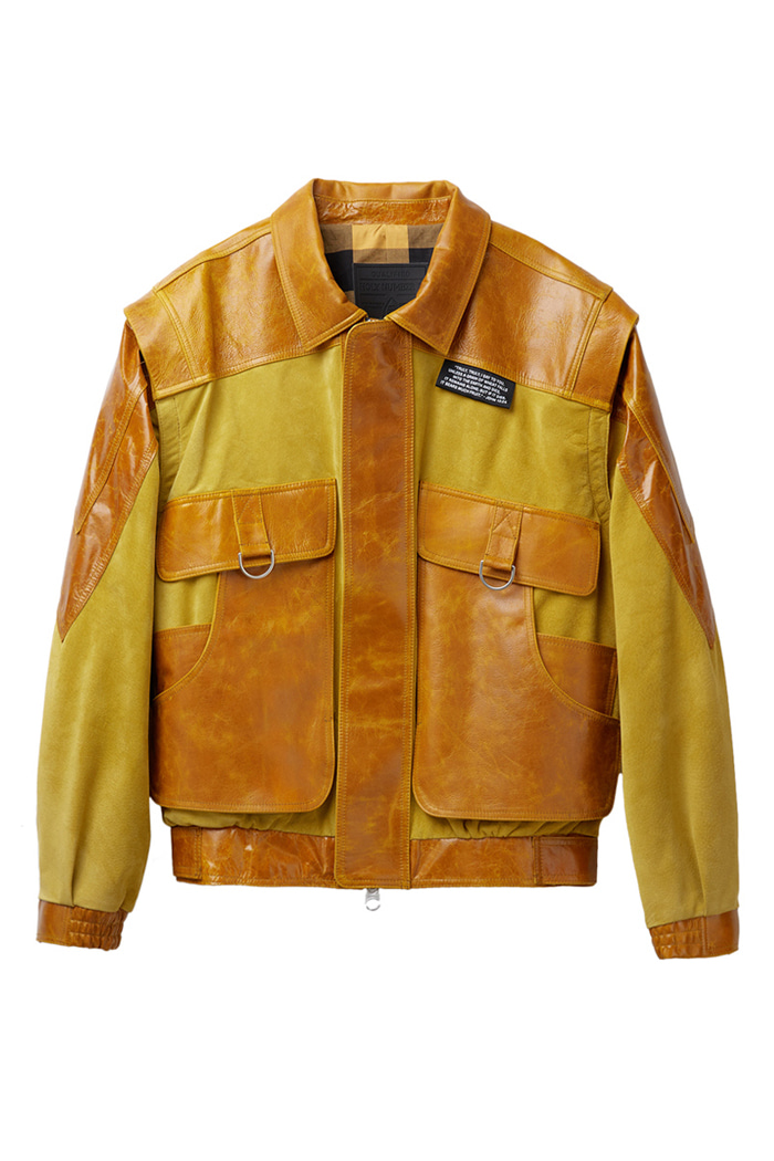 vegetable Lambskin Jumper_Yellow