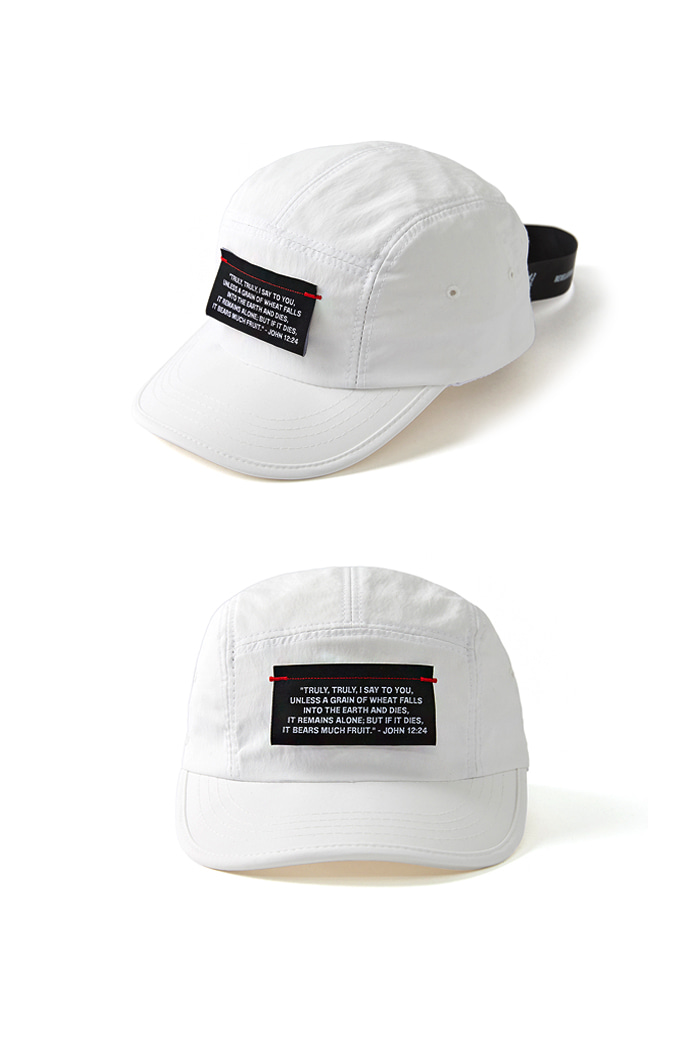 Label Cover Camp Cap_WHITE