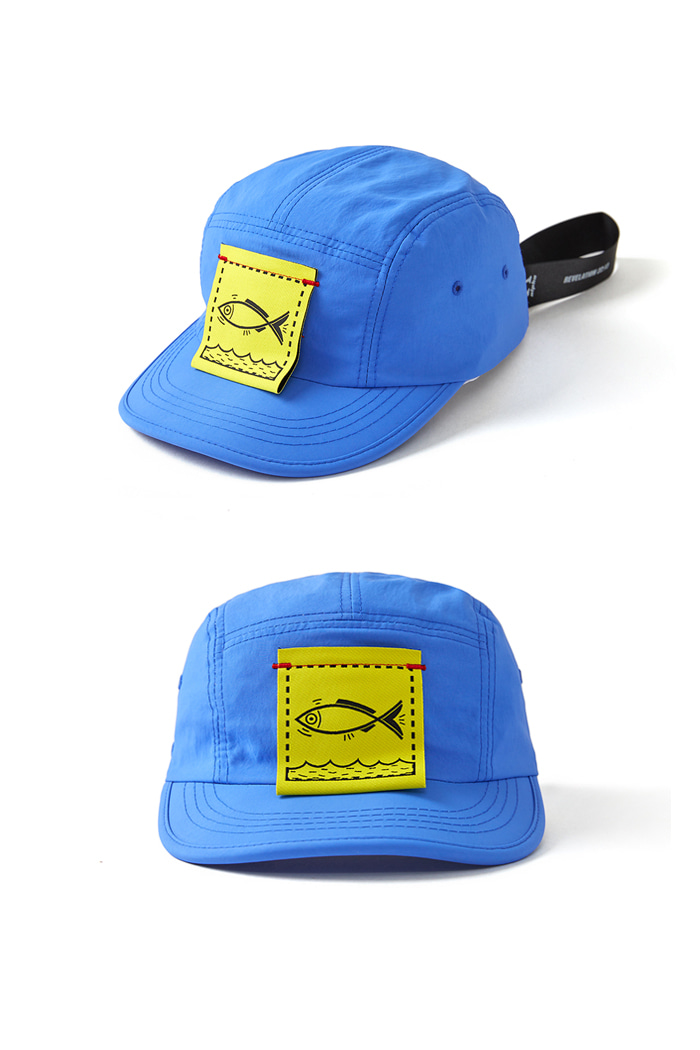 Fish Cover Camp Cap_BLUE