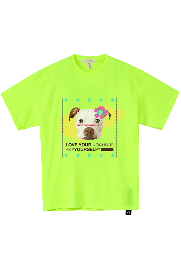 [Over-fit] terrier half-sleeve T_GREEN