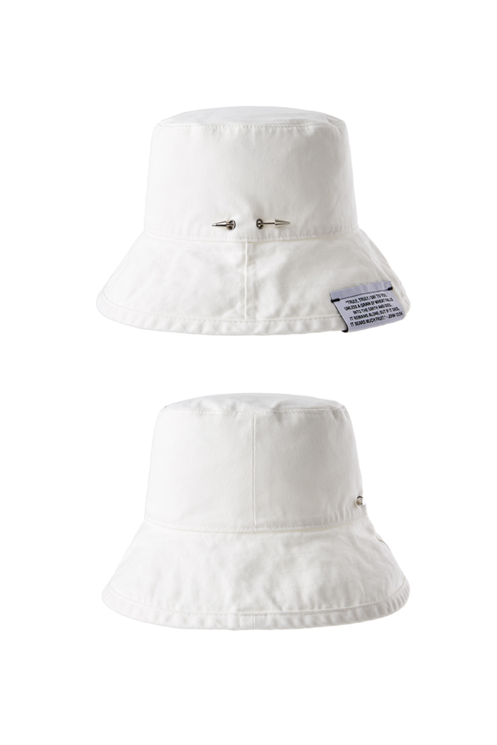 Holy Spear Bucket Hat_White