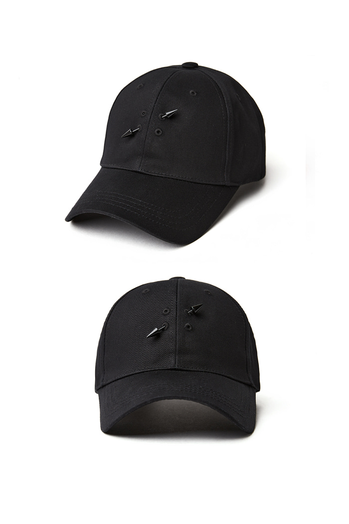 Holy Simple Ball Cap_black홀리심플 볼캡_블랙