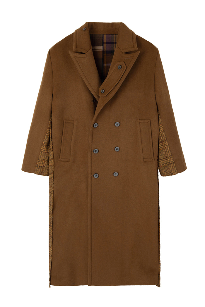 REVERSIBLE OVER-FIT DOUBLE WOOL COAT_CAMEL리버시블 오버핏 더블 울 코트_카멜